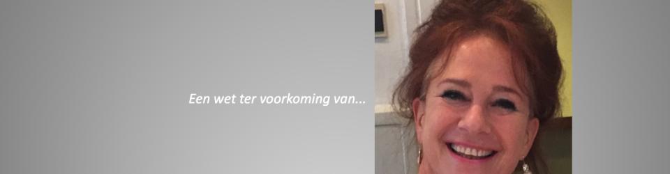 Pauline Dekker wil een wet